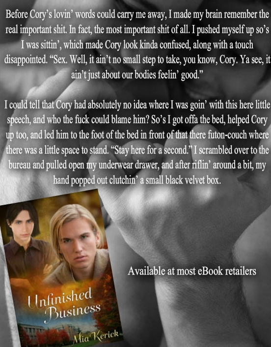 Unfinished Business (Beggars and Choosers and Unfinished Business Book 2)