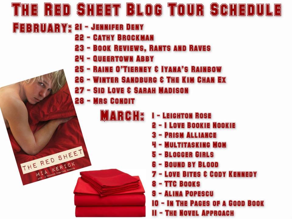 correct red sheet blog tour