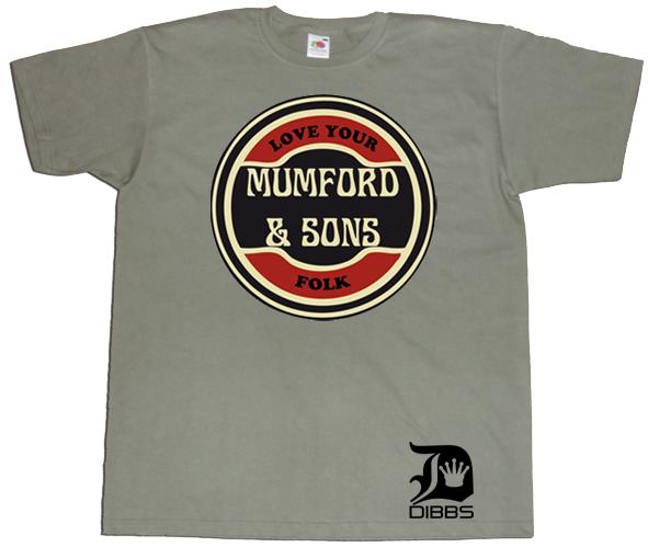 Mumford & Sons T-Shirt RRT-MAS01-OL
