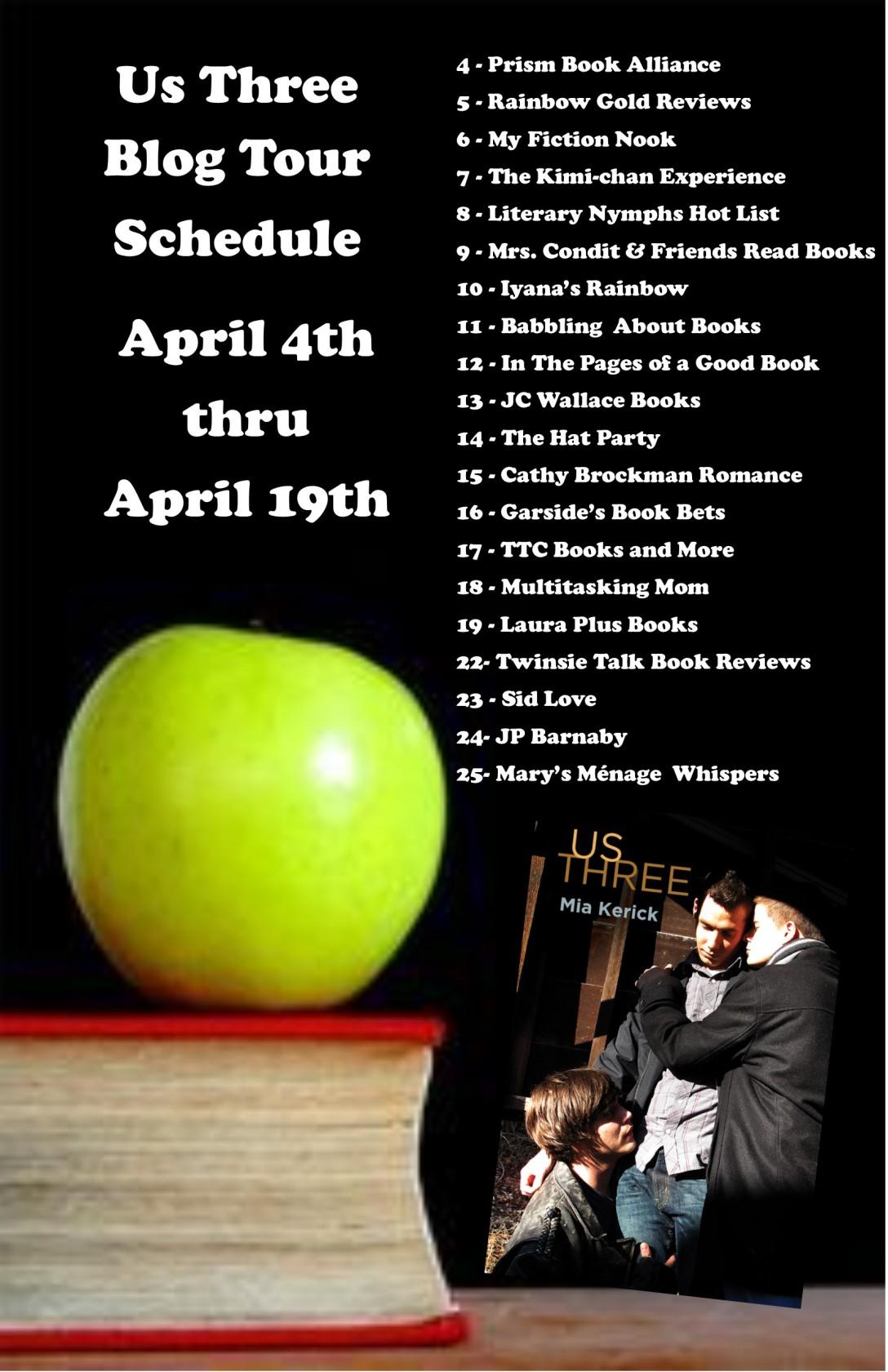 Us Three Blog Tour Schedule FINAL