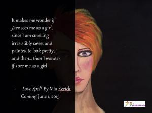 LOVE SPELL KARI PROMO see me as a girl