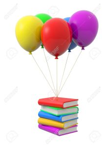 book balloon