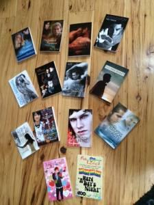 mia's 14 books